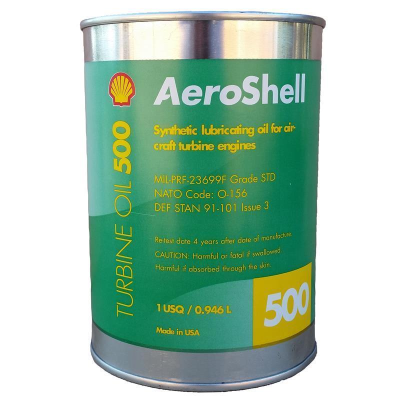 روغن توربین AeroShell Turbine Oil 500