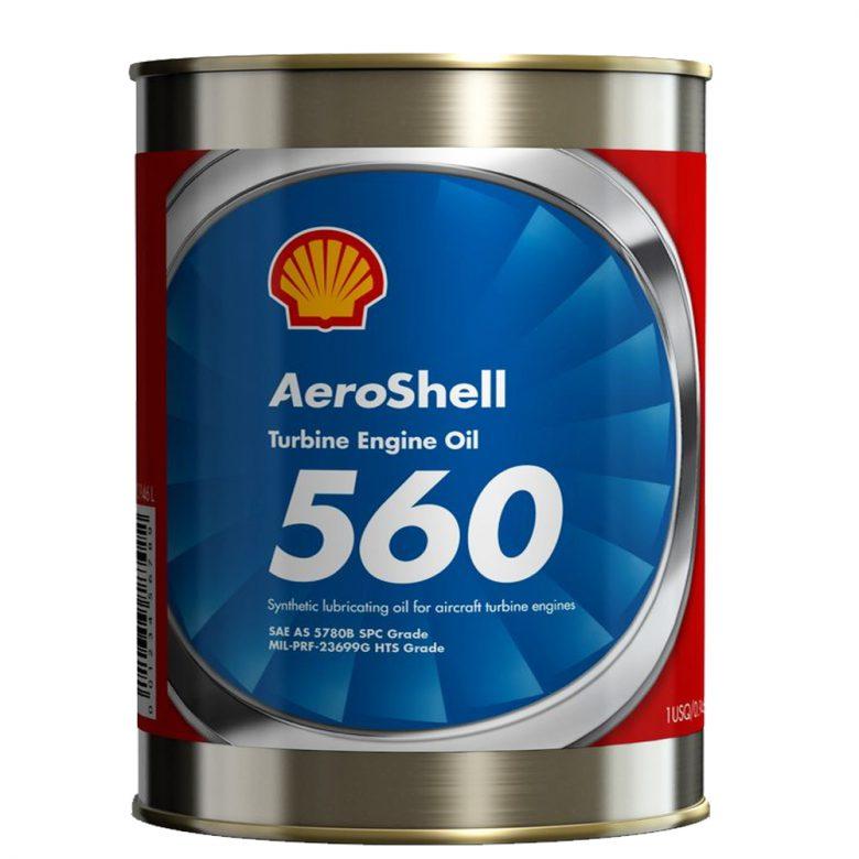 روغن توربین AeroShell Turbine Oil 560