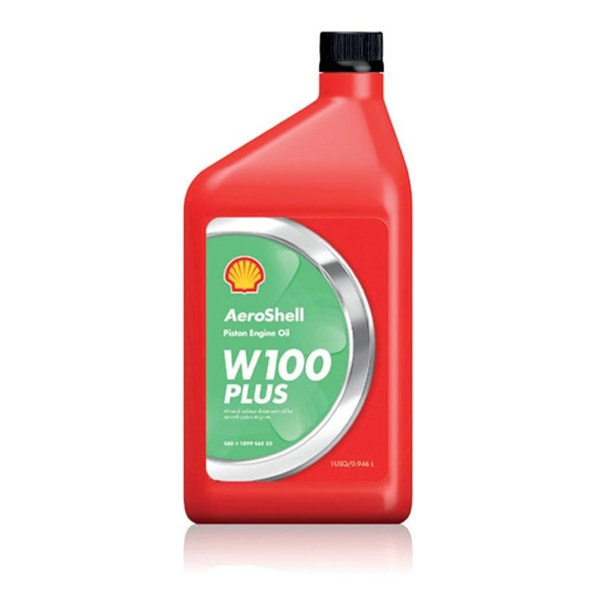 روغن موتور AeroShell Oil W100 Plus