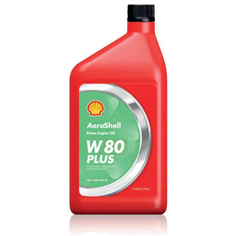 روغن موتور AeroShell Oil W80 Plus